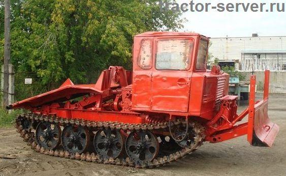 Фото трелевочного трактора ТДТ-55